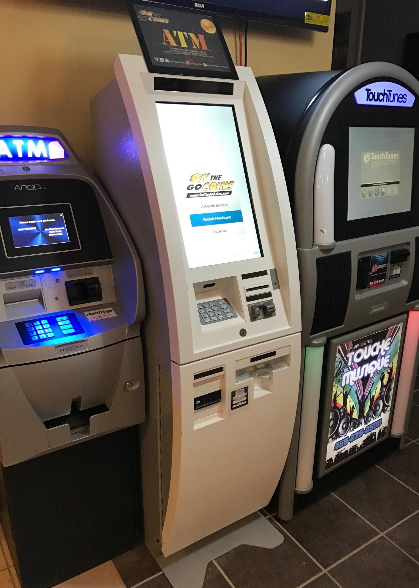 Mașină Bitcoin în Montreal, Canada)