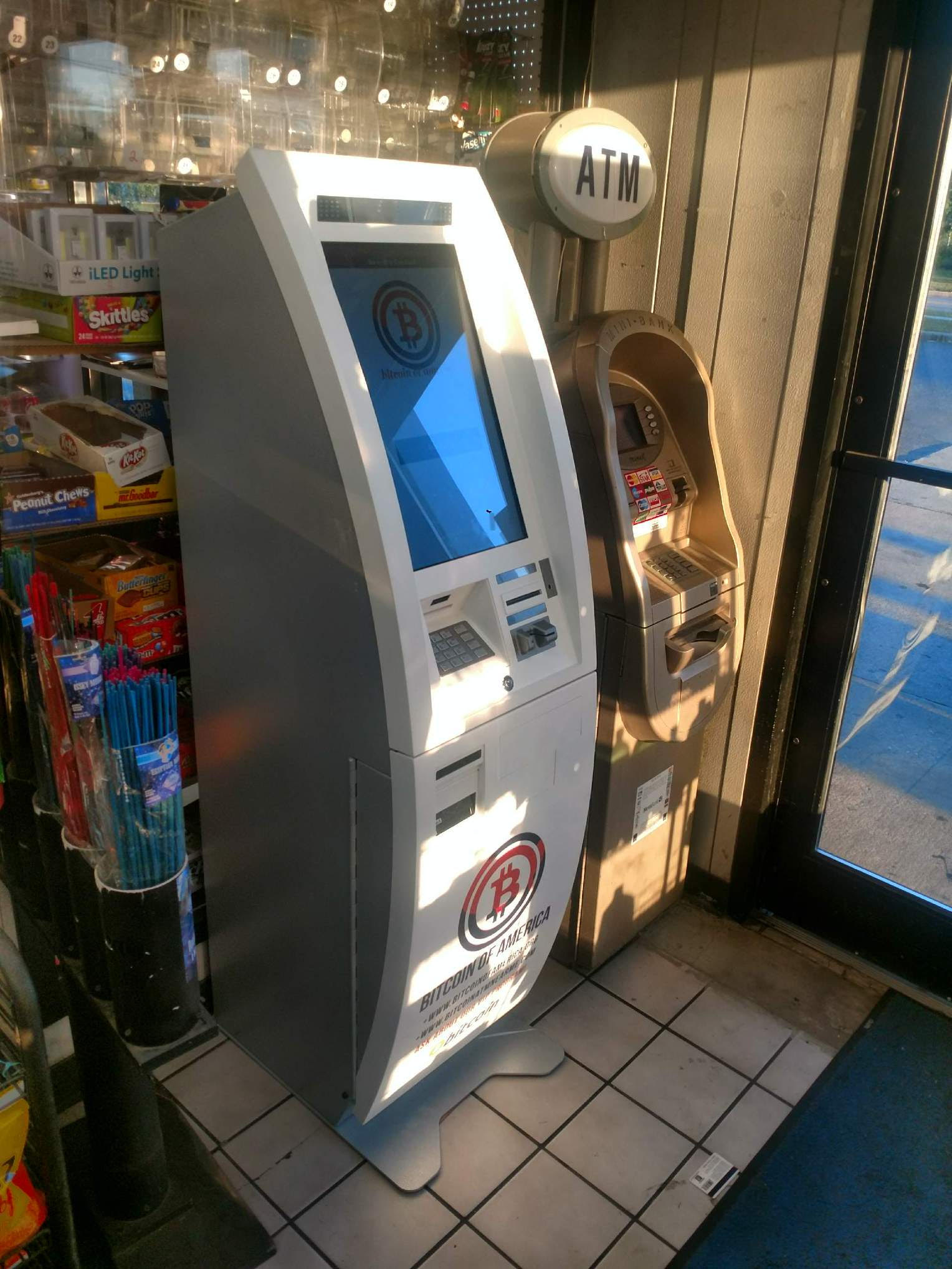 Baltimore Bitcoin BP Gas Station