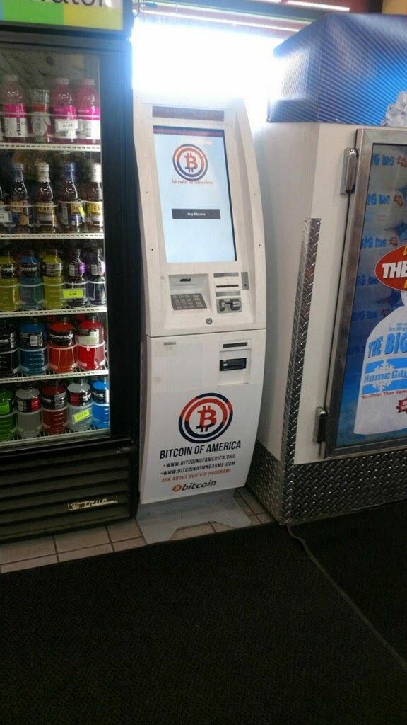 Detroit SUNOCO Gas Station Bitcoin ATM