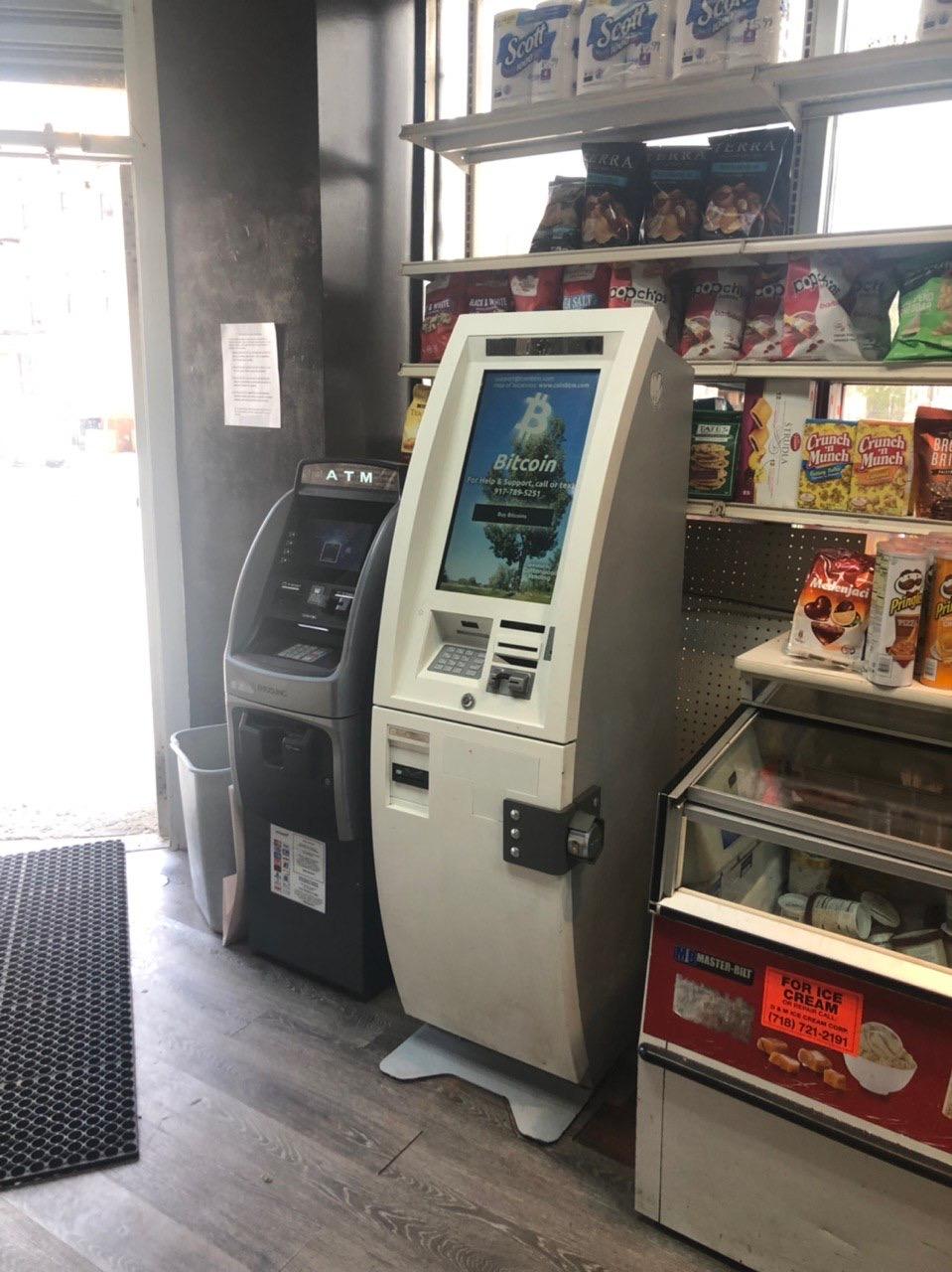 bitcoin machine nyc)