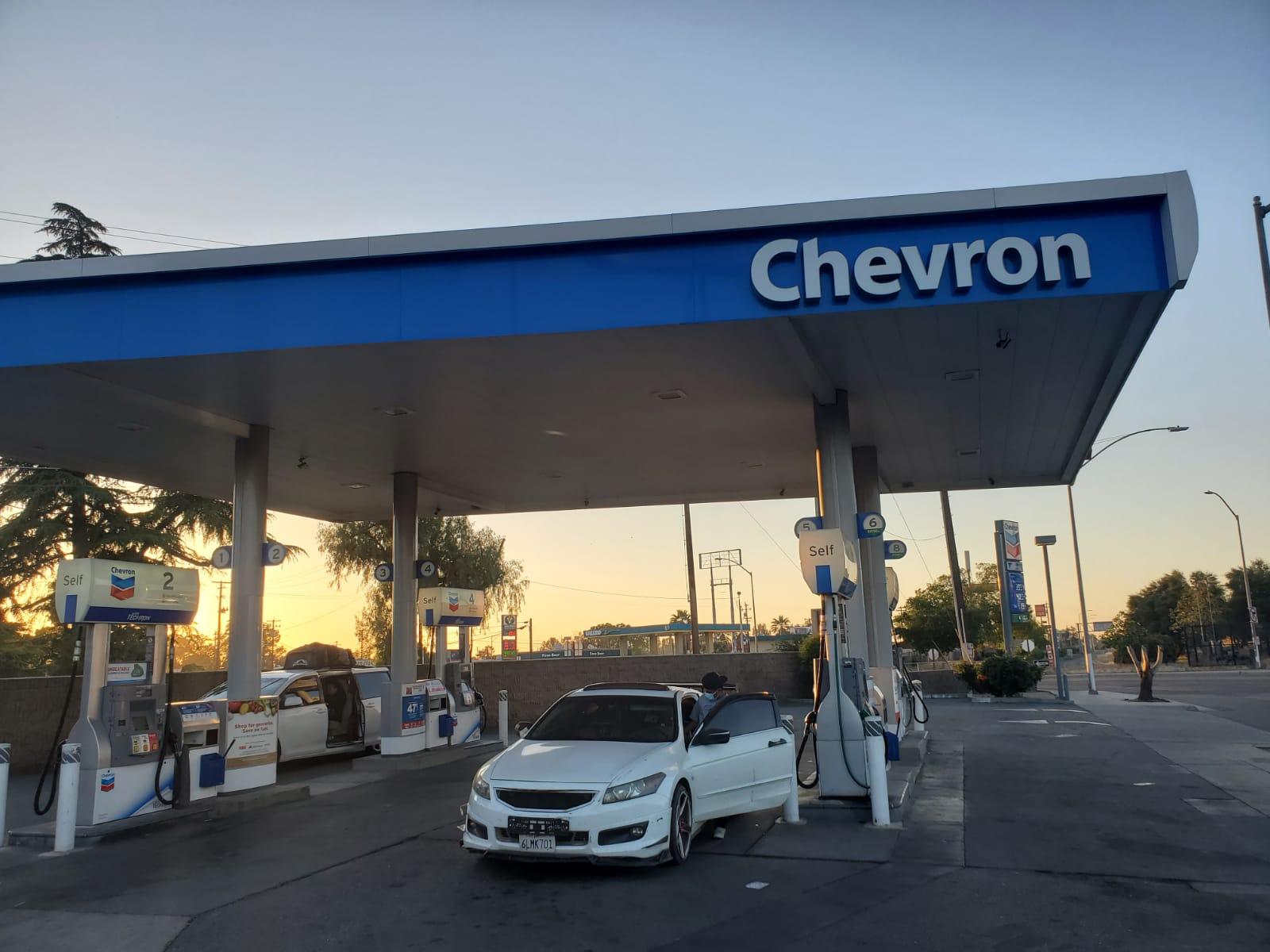 Chevron Gas Station