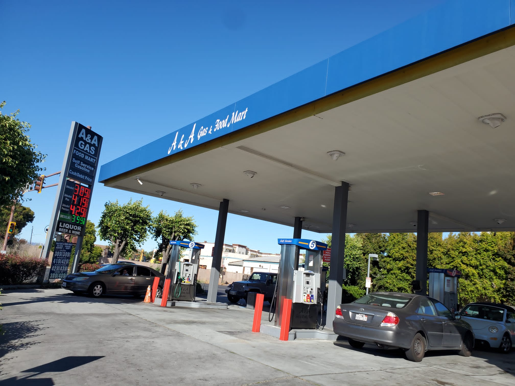 A & A Gas Station