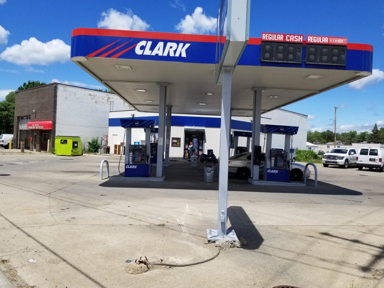 Clark Gas Station