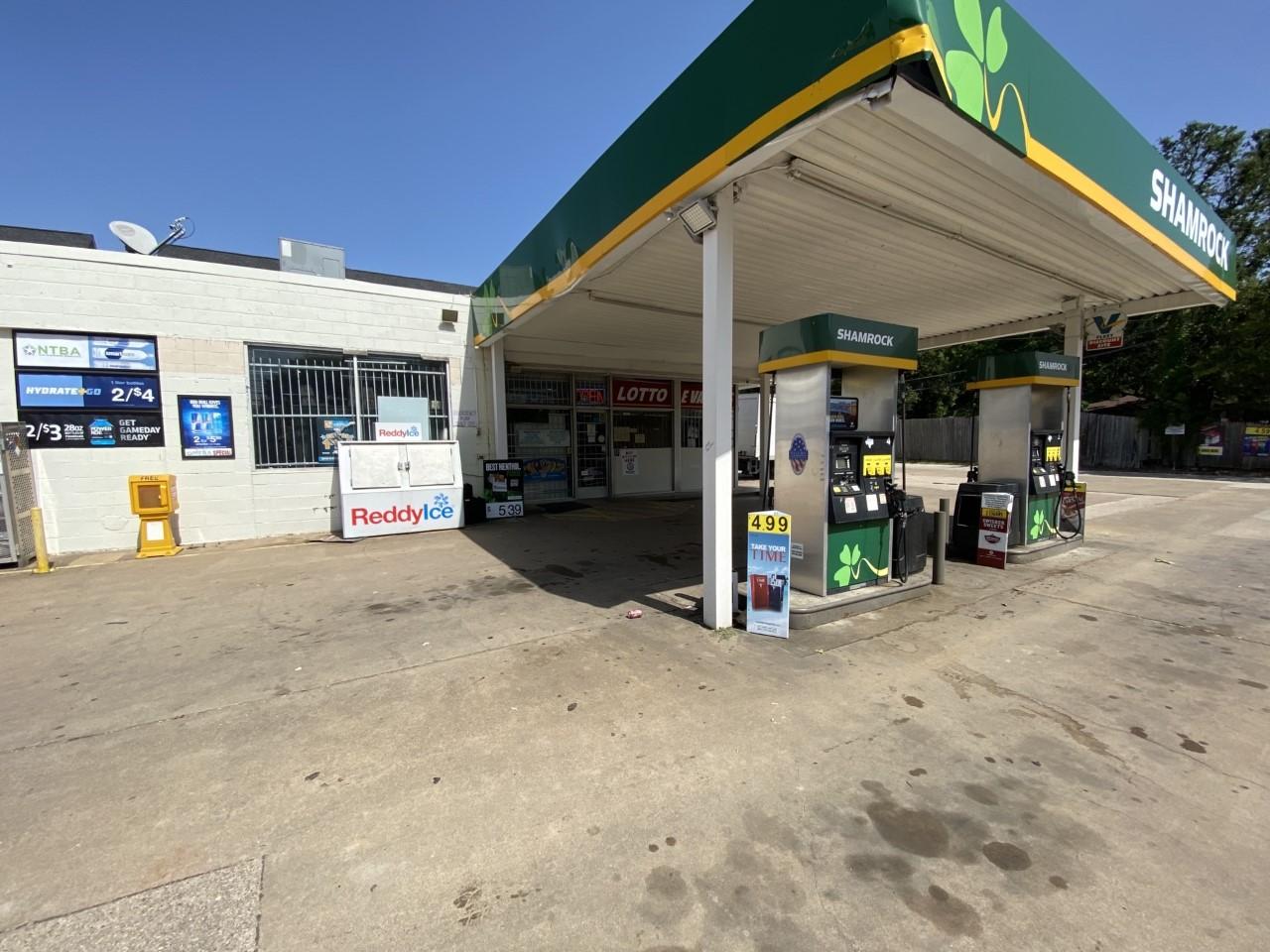 Shamrock Gas Station