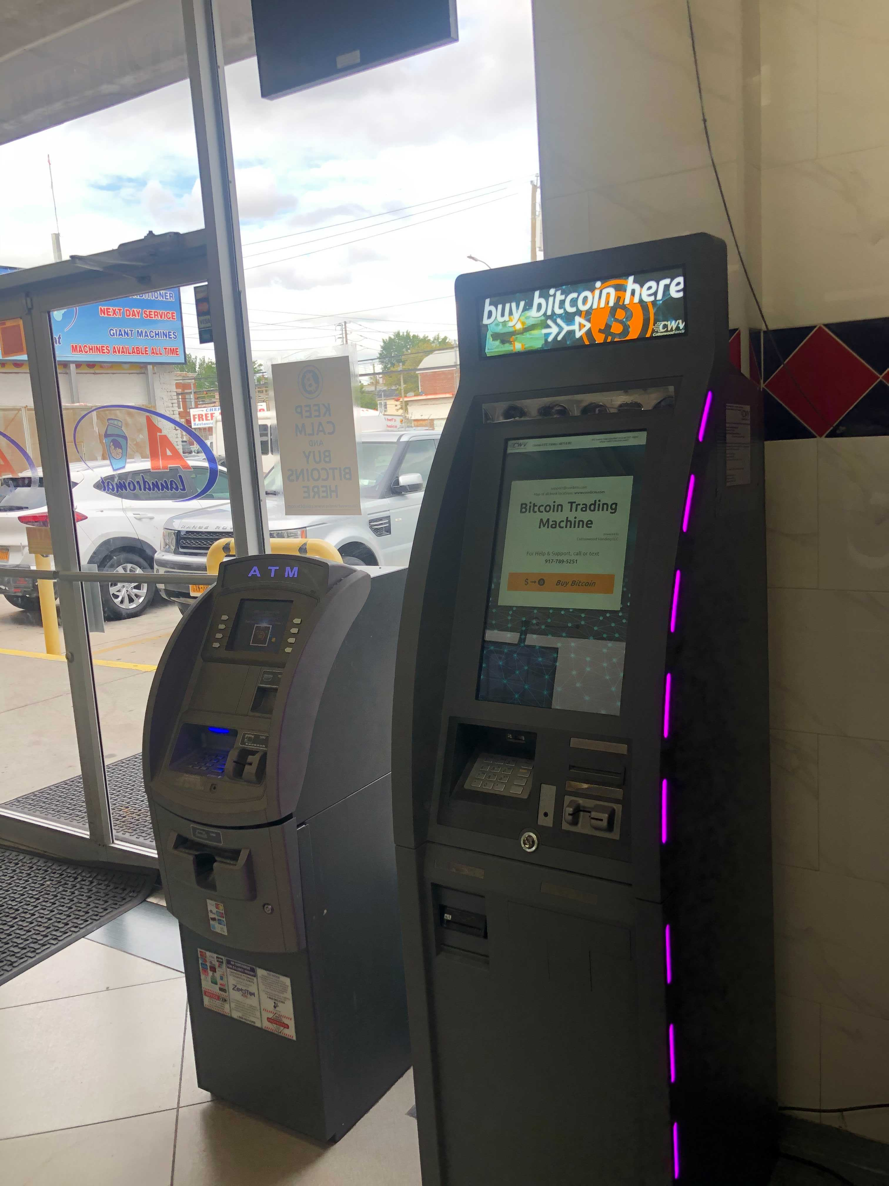 bitcoin machine brooklyn