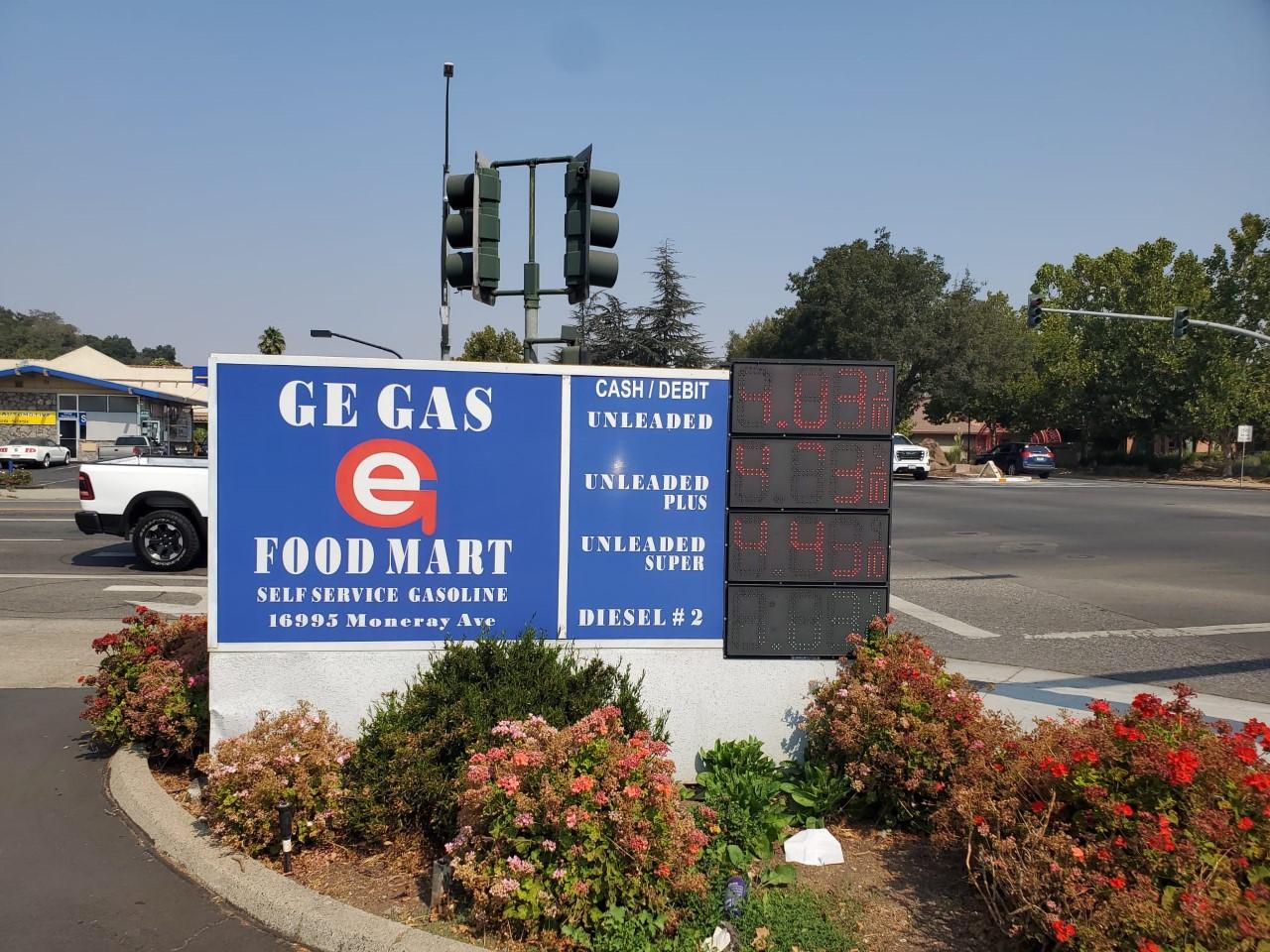 Golden Eagle Gas Station