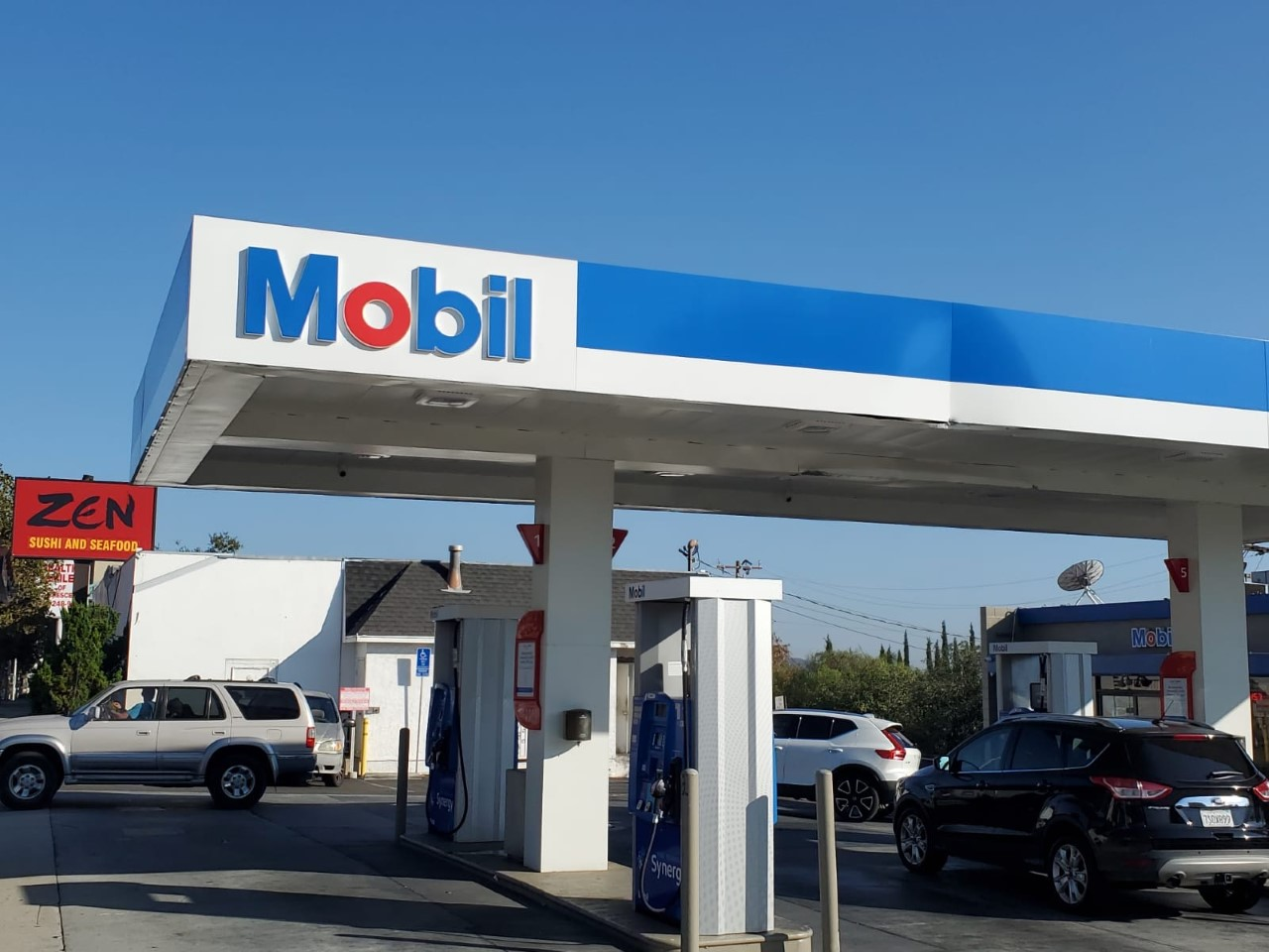 Mobil Gas Station